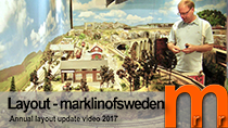 Marklinofsweden layout update 2017